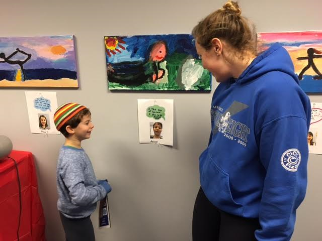 Lower School Art Exhibit Combines Art With Yoga